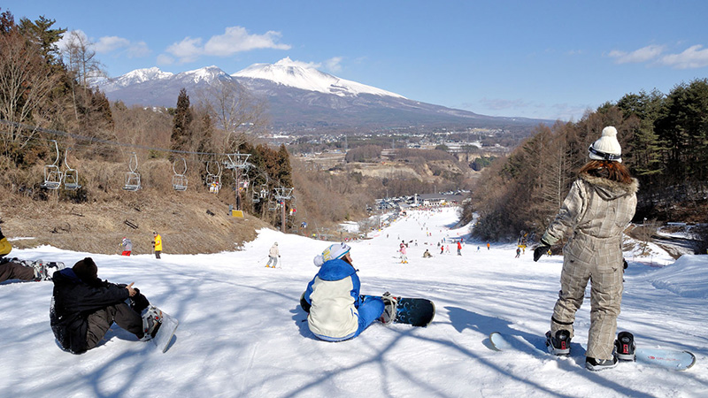 スノボツアー佐久スキーガーデン パラダ