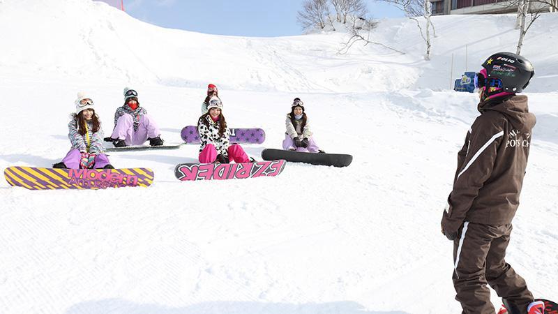 スノボツアー斑尾高原スキー場 初心者講習
