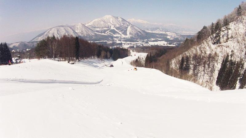 スノボツアー北志賀小丸山スキー場