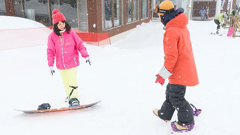 スノーボードで上手に立つための3つのコツ教えます