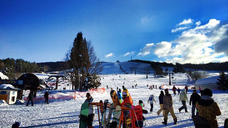 スノボツアーひるがの高原スキー場