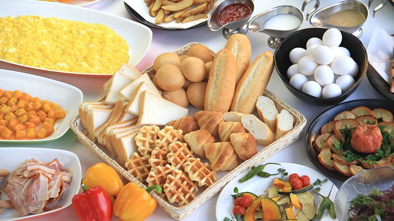 エンゼルグランディア バイキング朝食