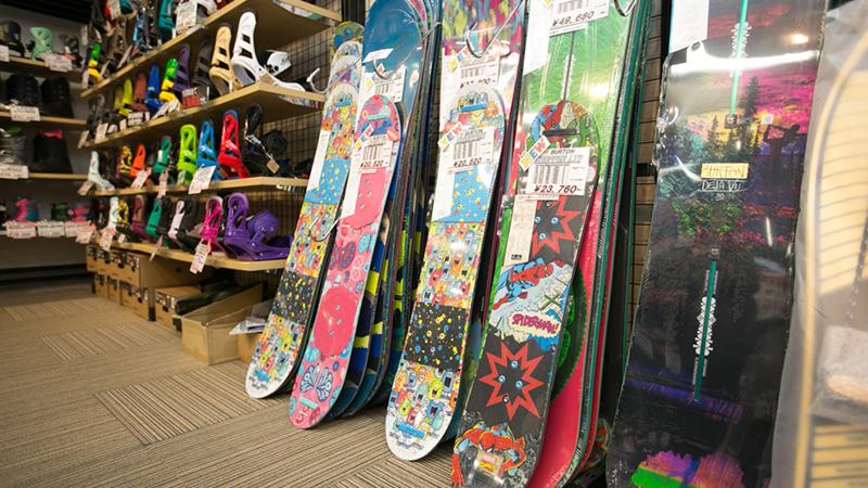 スノボツアースノーボード板の選び方