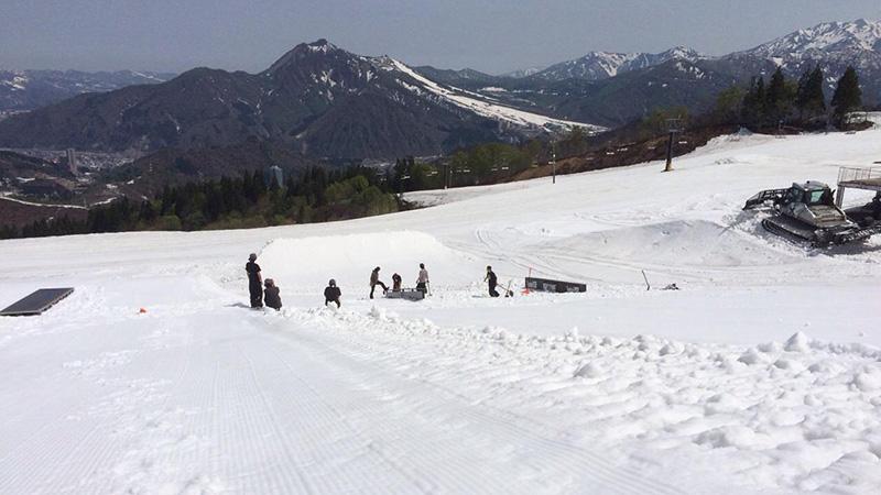 スノボツアー神立高原スキー場