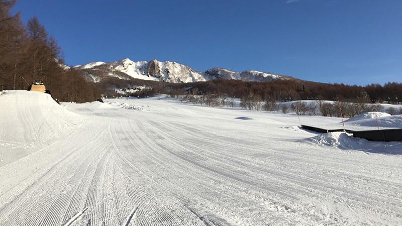 スノボツアー妙高杉ノ原スキー場