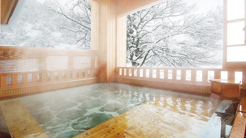 雪国の宿高半 露天風呂