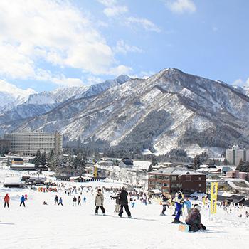 スノボツアー湯沢中里スキー場