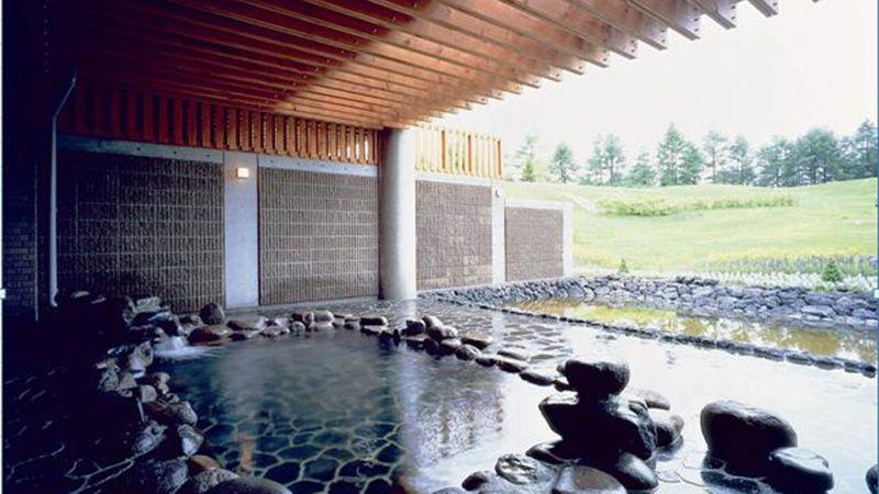 軽井沢スノーパーク 温泉
