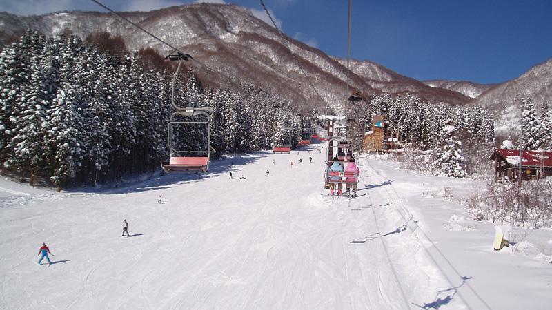スノボツアー白馬乗鞍温泉スキー場